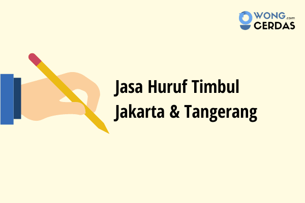 Jasa Pembuatan Huruf Timbul Jakarta