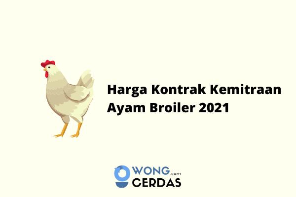 Analisa Usaha Ternak Ayam Potong Kemitraan
