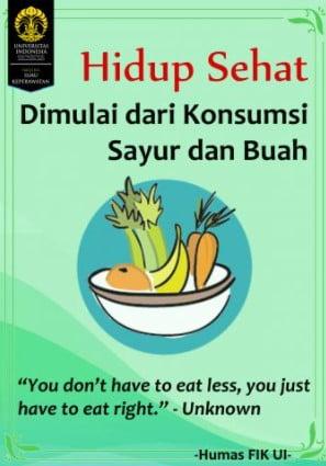 contoh iklan makanan sehat dan penjelasannya