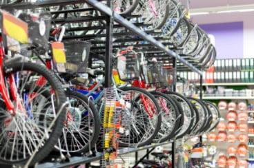 Toko Sepeda di Padang