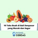Toko Buah di Bali