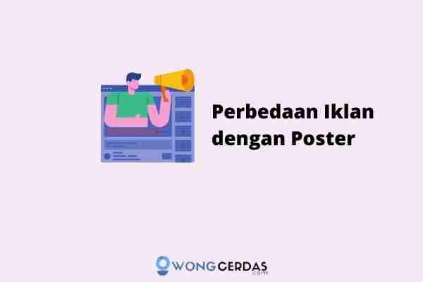 perbedaan iklan dengan poster