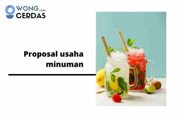 proposal usaha minuman