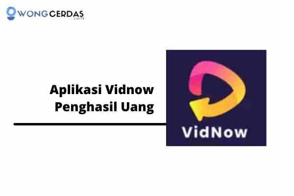 Aplikasi Vidnow Penghasil Uang