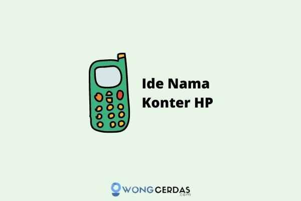 Nama Konter HP