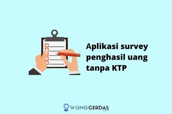 aplikasi survey penghasil uang tanpa KTP